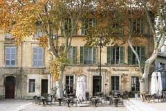 Restaurant Le Moutardier du Pape photos stock