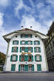 Restaurant located in former characteristic Mansion, Bern, Switzerland Royalty Free Stock Images