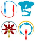 Restaurant logo Stock Images