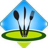 Restaurant logo Stock Photo