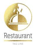 Restaurant logo Royalty Free Stock Images