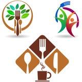Restaurant  logo collection Stock Photo