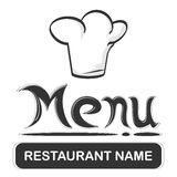 Restaurant logo Royalty Free Stock Photography