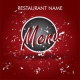 Restaurant Logo Menu Royalty Free Stock Image