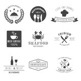Restaurant logo Royalty Free Stock Photos