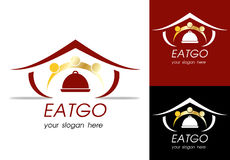 Restaurant logo. A simple logo for restaurant business Royalty Free Stock Photo