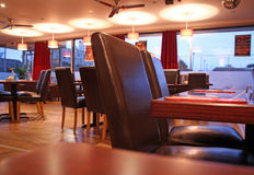 Restaurant lounge cafe bar stock photos
