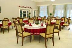 Restaurant lunchroom Royalty-vrije Stock Foto's