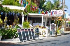 Restaurant in Malia. Royalty Free Stock Photo