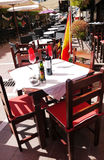 Restaurant in Marbella Stock Photos