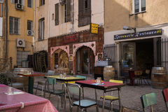 Restaurant Marseilles Stock Photos