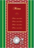 Restaurant menu. Template of elegant design menu Royalty Free Stock Image