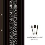 Restaurant menu. Tempale design. Vector available Stock Photos