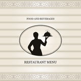 Restaurant menu Royalty Free Stock Photos