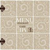 Restaurant menu Royalty Free Stock Image