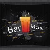 Restaurant menu. Restaurant or cafe menu design Royalty Free Stock Photography