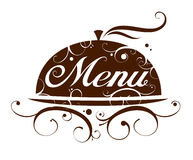 Restaurant menu. Stock Image