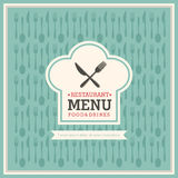Restaurant menu Royalty Free Stock Photography