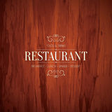 Restaurant menu Royalty Free Stock Image