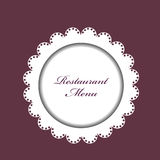 Restaurant menu background Royalty Free Stock Photography