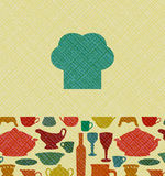 Restaurant menu background Stock Images