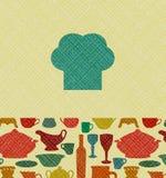 Restaurant menu background Stock Images