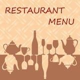 Restaurant menu background Royalty Free Stock Image