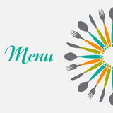 Restaurant Menu Background  Template Vector Stock Photo