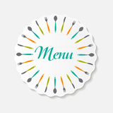 Restaurant Menu Background  Template Vector Royalty Free Stock Photos