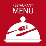 Restaurant menu card Royalty Free Stock Images