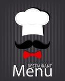 Restaurant menu card Stock Images