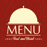 Restaurant Menu Card Design Template Editable Stock Photo