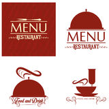 Restaurant Menu Card Design Template Editable Royalty Free Stock Image