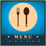 Restaurant Menu Card Design template. Royalty Free Stock Images