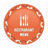 Restaurant Menu Card vintage Royalty Free Stock Images