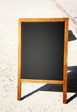 Restaurant menu chalkboard Stock Photos