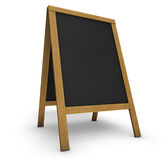 Restaurant Menu Chalkboard Stock Photography