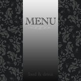 Elegant restaurant menu design Stock Photo