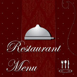 Restaurant Menu cover Stock Photography