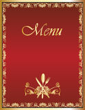 Restaurant Menu Design 1 Stock Photos