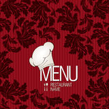 Restaurant menu design. Vector available Stock Images