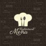 Restaurant menu design. Vector available royalty free illustration