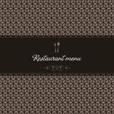 Restaurant menu design. Vector available Royalty Free Stock Photography