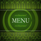Restaurant menu design Stock Photo