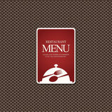 Restaurant menu design Royalty Free Stock Photography