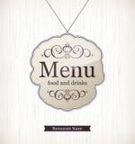 Restaurant menu design. Menu for restaurant, cafe and bar Royalty Free Stock Photos