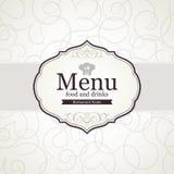 Restaurant menu design. Menu for restaurant, cafe and bar Stock Photography