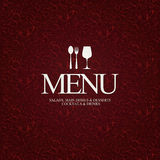 Restaurant menu design. Menu for restaurant, cafe and bar Royalty Free Stock Image