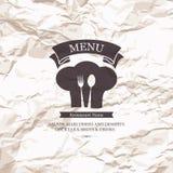 Restaurant menu design. Menu for restaurant, cafe and bar Stock Images