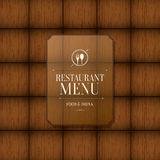 Restaurant menu design Royalty Free Stock Image